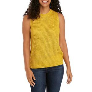Philosophy Republic Sweater Tank Yellow Medium